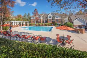 Relaxing Swimming Pool at Southpoint Crossing, Durham, NC