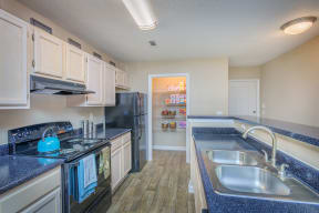 All Electric Kitchen at Southpoint Crossing, Durham