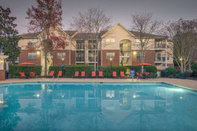 Swimming Pool And Sundeck at Southpoint Crossing, Durham