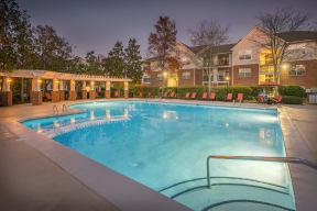 Cool Blue Swimming Pool at Southpoint Crossing, North Carolina, 27713