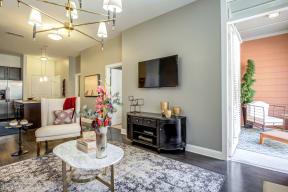 Living Room Interior at LaVie SouthPark, Charlotte, NC, 28209