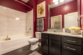 Luxurious Bathrooms at LaVie SouthPark, Charlotte