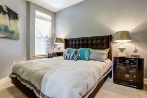 Bedroom With Expansive Windows at LaVie SouthPark, North Carolina