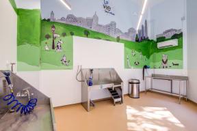 Pet Washing Center at LaVie SouthPark, Charlotte, North Carolina