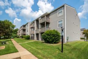 Exterior Patios & Balconies Of Apartment Homes