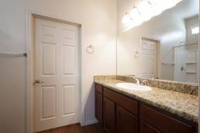 Bathroom Vanity at Casitas at San Marcos in Chandler AZ Nov 2020