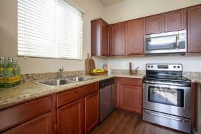 Kitchen Appliances at Casitas at San Marcos in Chandler AZ Nov 2020