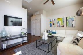 Living Room at Casitas at San Marcos in Chandler AZ 1Nov 2020
