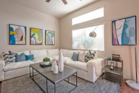 Living Room at Casitas at San Marcos in Chandler AZ Nov 2020 (5)