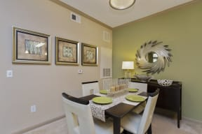 The Grove at Waterford Crossing Dining Room and Access to Living Room