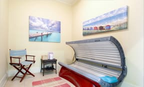private tanning bed