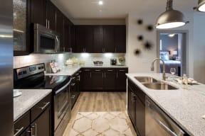 Spacious kitchen with Island