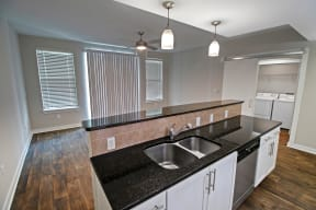 Renovated Kitchen and Living Room