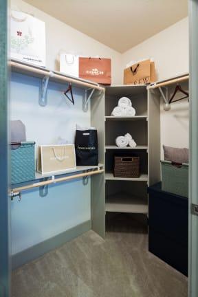 Spacious Customized Closets