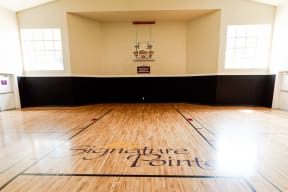 Kent Apartments - Signature Pointe Apartment Homes - Indoor Basketball Court