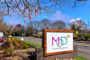 Lakewood Apartments - MOD 83 Apartments - Signage
