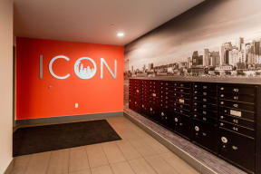 Seattle Apartments - Icon Apartments - Mailroom