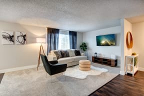 Lakewood Apartments - MOD 83 Apartments - Living Room 1