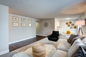 Lakewood Apartments - MOD 83 Apartments - Living Room 2