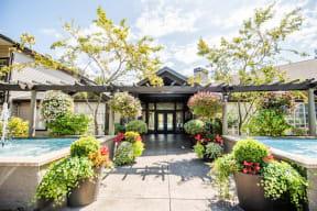 Kent Apartments - Signature Pointe Apartment Homes - Main Entrance