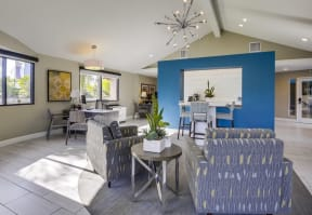 Apartments for Rent in Temecula - Vista Promenade Clubhouse with Wifi