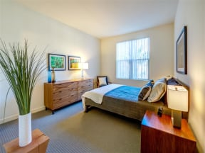 Apartments for Rent in Pomona CA - Spacious Bedroom with Stylish Interior