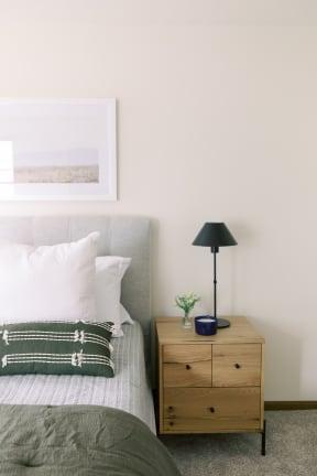 Bedroom Interior at Deer Run Apartments, Wisconsin, 53223
