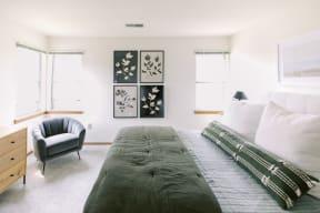 Spacious Bedroom at Deer Run Apartments, Brown Deer, WI, 53223