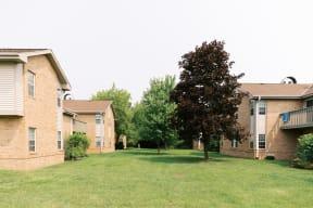 Lush Green Outdoors at Deer Run Apartments, Wisconsin, 53223