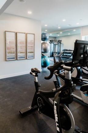 State-Of-The-Art Gym And Spin Studio at Deer Run Apartments, Brown Deer, 53223