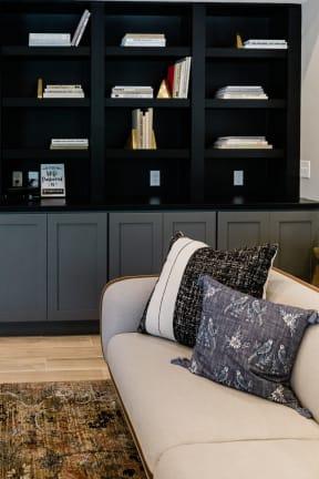 Luxurious Living Area at Deer Run Apartments, Brown Deer, 53223