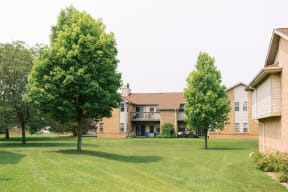 Lush Landscaping at Deer Run Apartments, Brown Deer, WI, 53223
