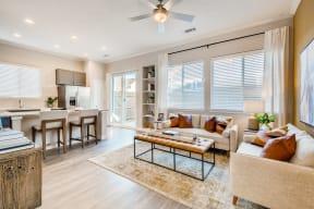 Modern Living Room at Avilla Parkway, Texas, 75009
