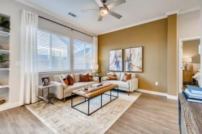 Modern Living Room at Avilla Reserve, Justin, TX