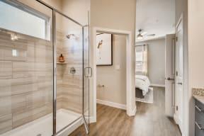 Master Bathroom at Avilla Reserve, Justin