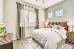 Master Bedroom at Avilla Reserve, Justin, Texas