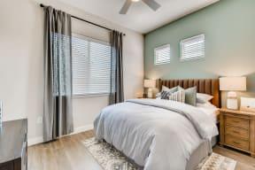 Bedroom With Expansive Windows at Avilla Oakridge, Forney, TX, 75126