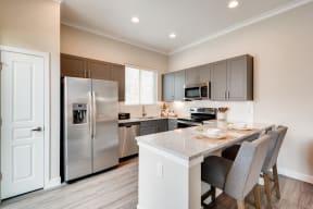 Gourmet Kitchen With Island at Avilla Heritage, Grand Prairie, TX, 75052