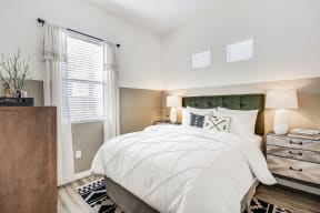 Spacious Bedroom With Comfortable Bed at Avilla Gateway, Arizona
