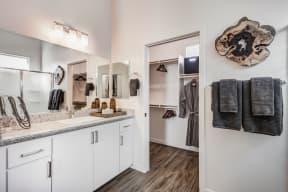 Designer Bathroom Suites at Avilla Gateway, Phoenix, AZ, 85037