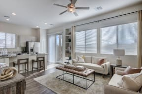 Living Room With Expansive Window at Avilla Lago, Arizona, 85382