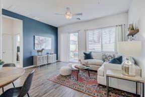 Modern Living Room at Avilla Gateway, Phoenix, 85037