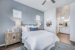 Bedroom with Private Bath at Avilla Gateway, Phoenix, AZ