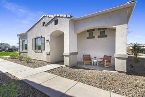 Courtyard Patio at Avilla Gateway, Arizona