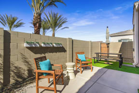 Outdoor Patio Area at Avilla Gateway, Phoenix