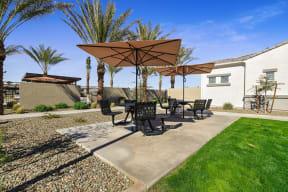 Picnic Area at Avilla Gateway, Phoenix, Arizona