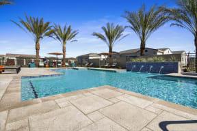 Glimmering Pool at Avilla Gateway, Phoenix, AZ, 85037