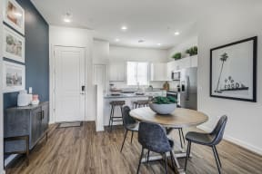 Dining Room and Kitchen View at Avilla Gateway, Phoenix