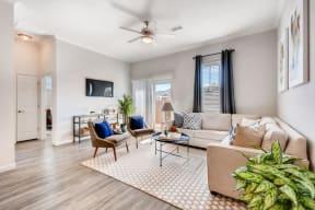 Living Roomat Avilla Northside, McKinney, TX, 75071