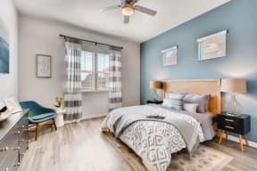 Beautiful Bright Bedroom With Wide Windows at Avilla Northside, McKinney, 75071